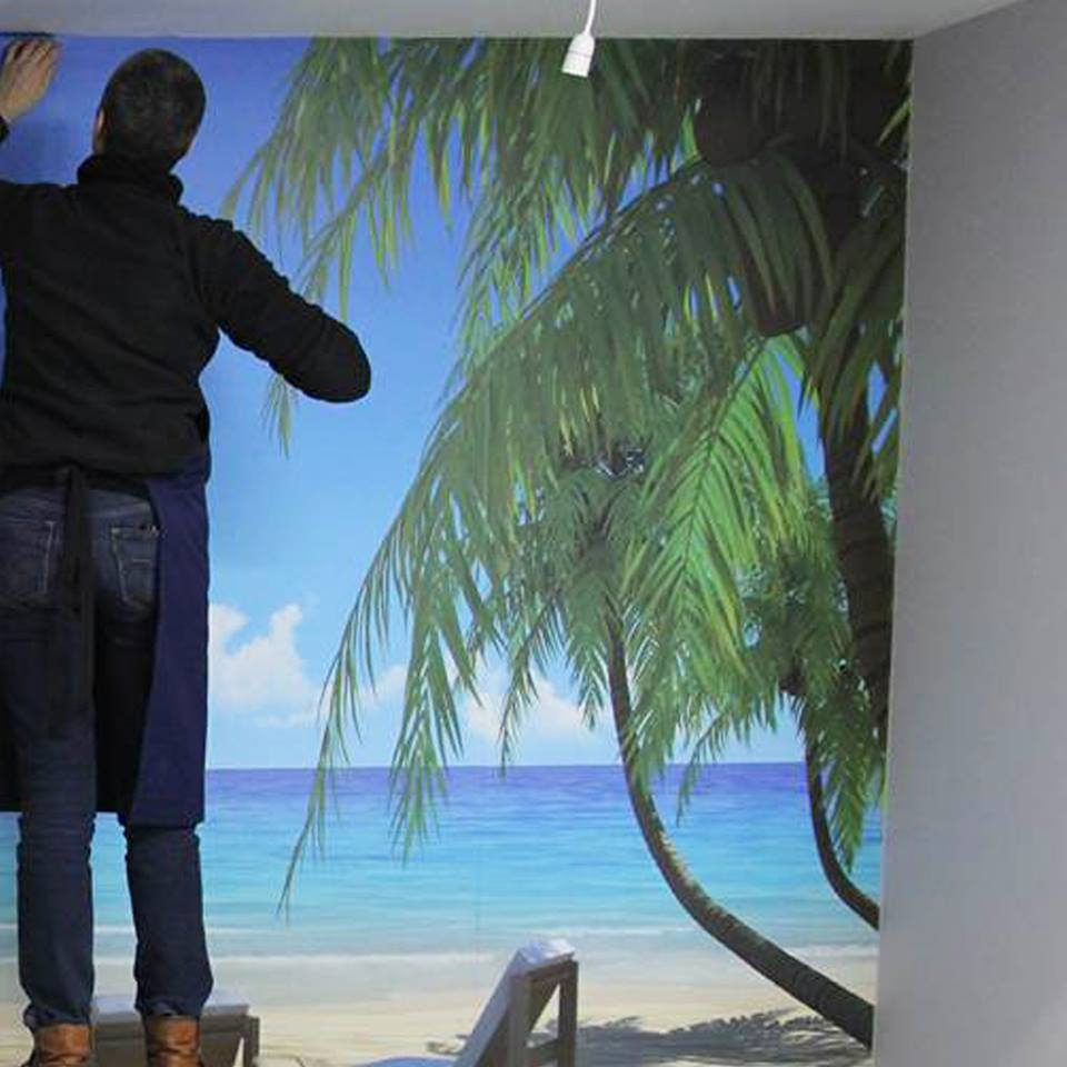 Digital Murals and Feature Walls